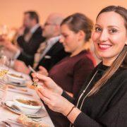 Der Hauptgang in unserem Bistro - Gratinierte Wiener Schnecke mit 3 verschiedenden Buttervariationen