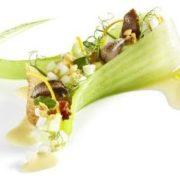 Menü mit der Escargot von Gugumuck aus der Wiener Schnecken-Manufaktur