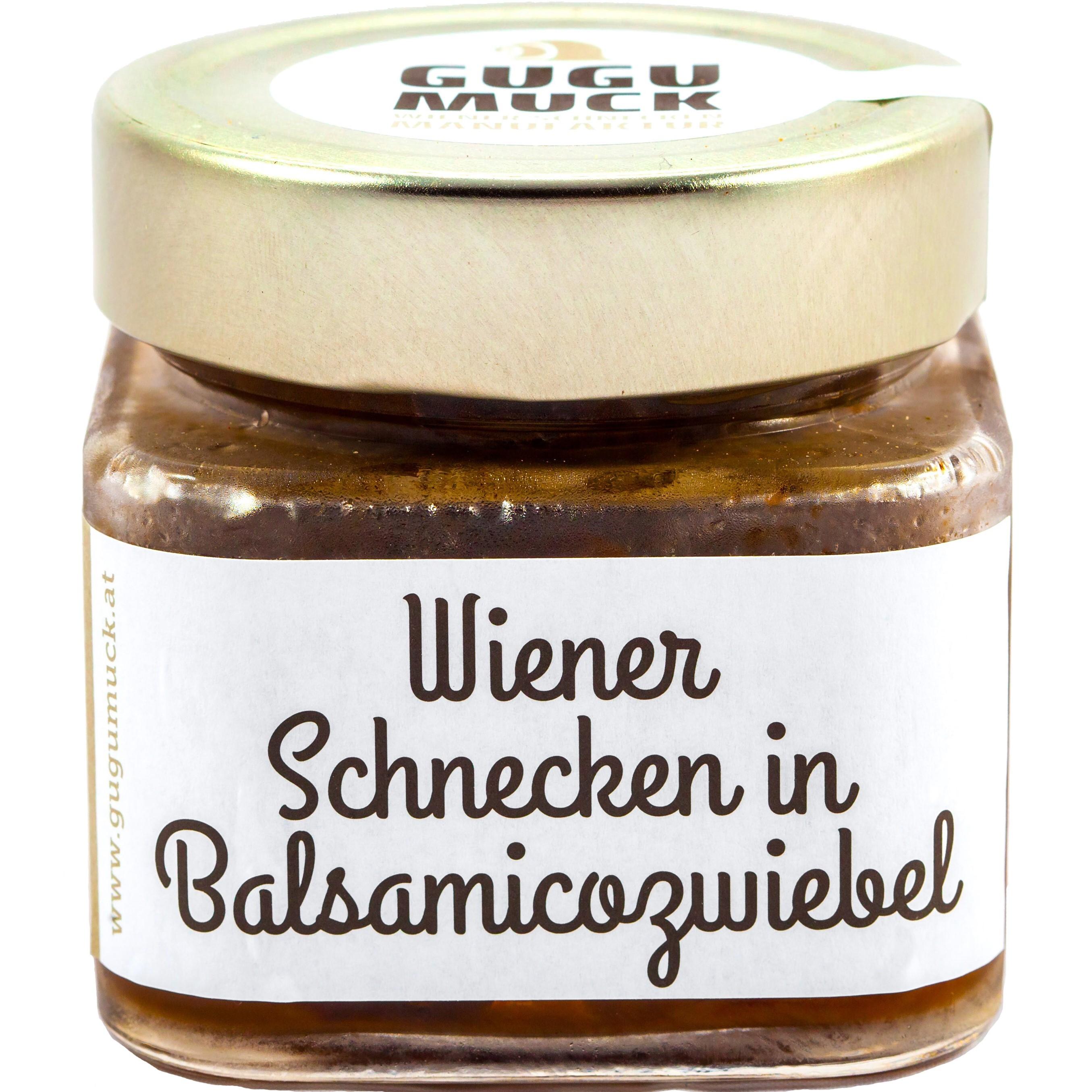 Schnecken in Balsamicozwiebel von Gugumuck