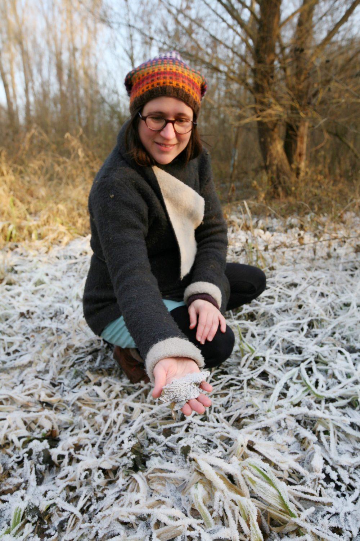 Magdalena Bauer-Scharinger, Mitarbeiterin in der Schneckenmanufaktur Gugumuck