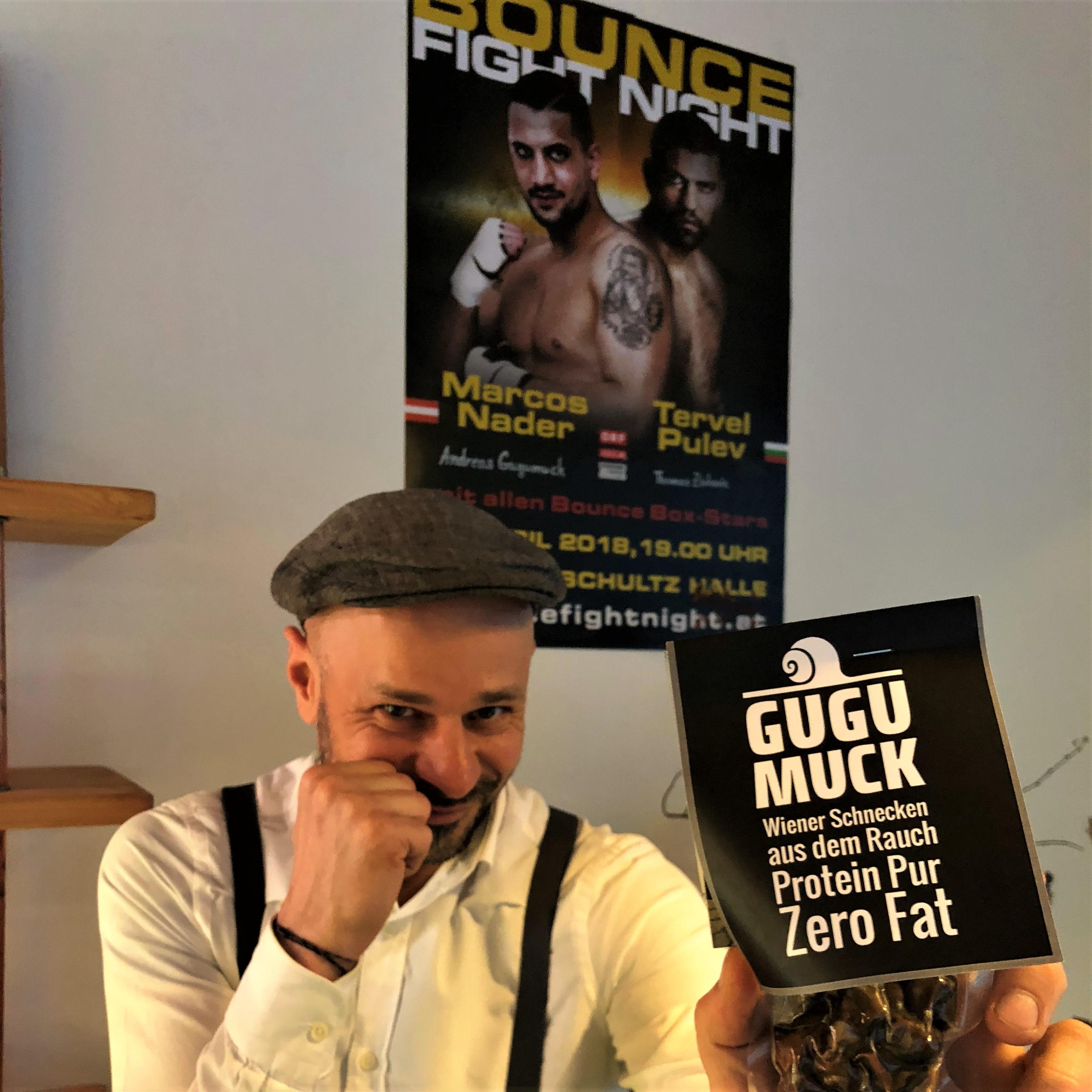 Bounce fight night 2018 mit Marcos Nader und Andreas Gugumuck