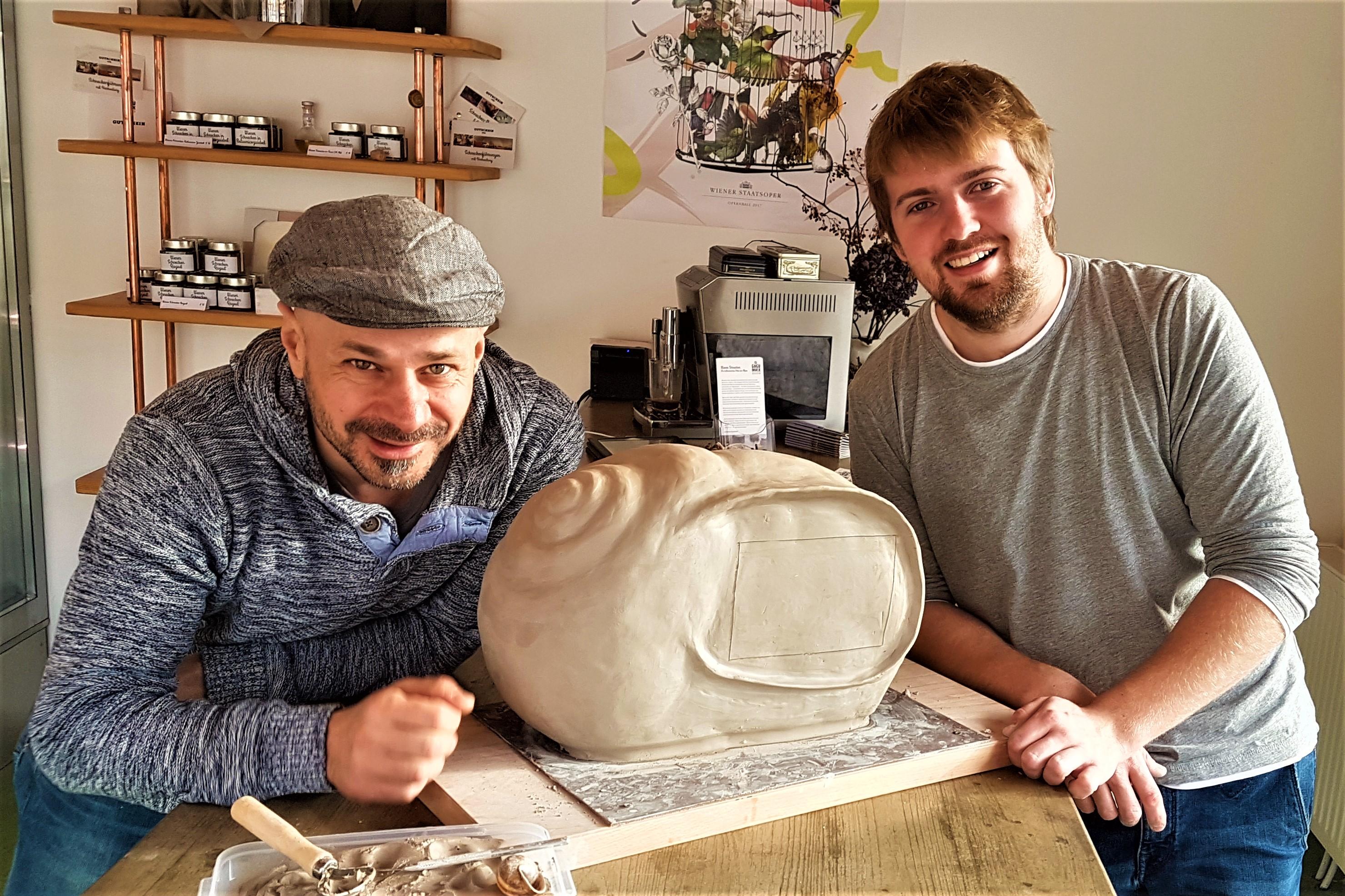 FoodAnhänger, Andreas Gugmuck auf der Schnecken-Farm, riesen Escargot, Weinbergschnecke