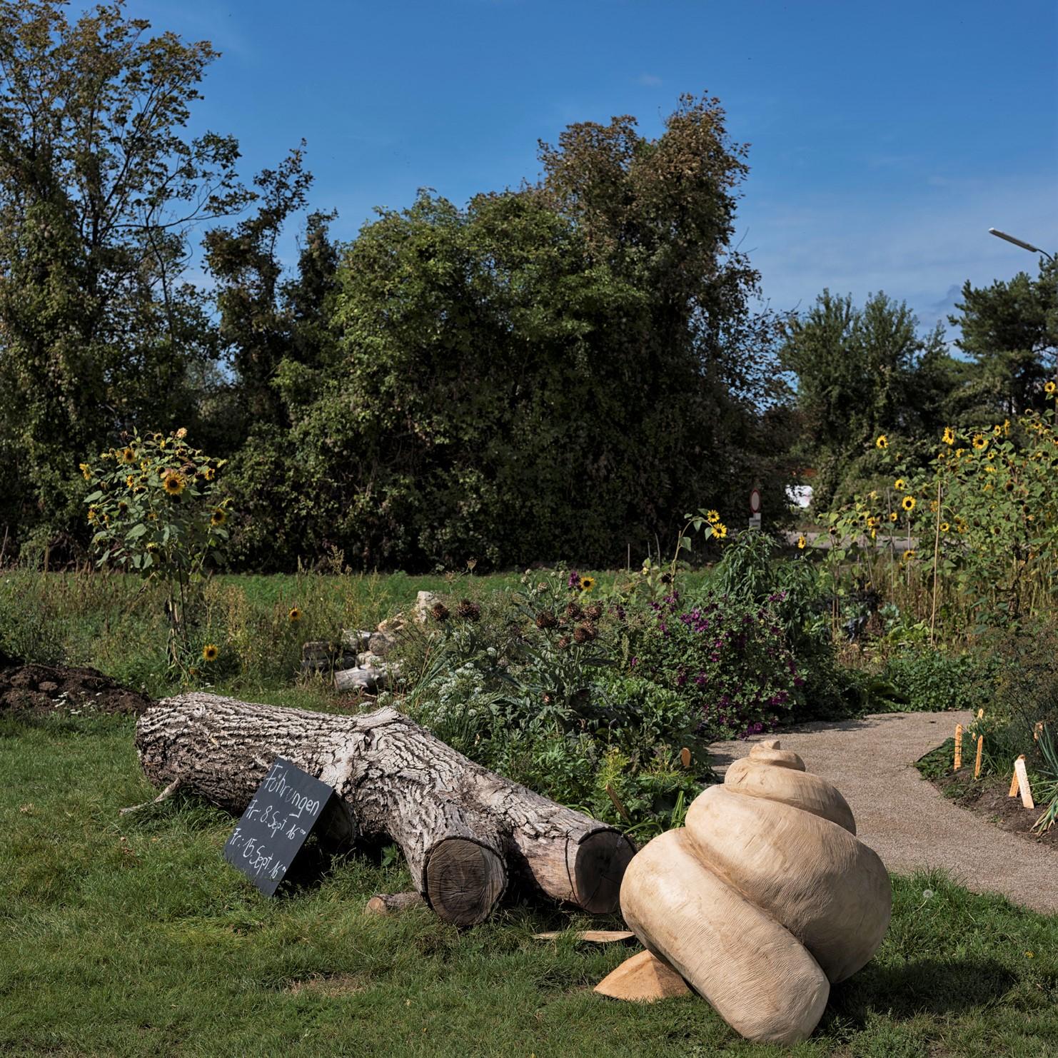 Nachhaltig Permakultur Waldgarten Kräutergarten für Weinbergschnecken, Escargots auf der Stadtlandwirtschaft, Öko, Ernährungskonzepte, Umweltverträglichkeit, Innovation, Lebensmittelmanagement