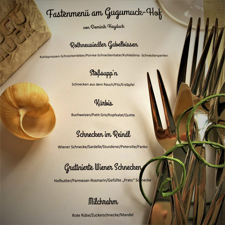 Fastenmenü 2018, Escargots-Spezialitäten, Weinbergschnecken Rezepte, französische Delikatessen
