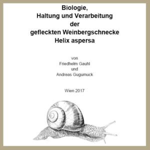 Weinbergschnecken-Zuchtbuch. Das Weinbergschnecken-Zuchtbuch beschäftigt sich mit der Schneckenproduktion, Verarbeitung und Zubereitung aber auch Biologie Gehegebaukasten und Rezepte.