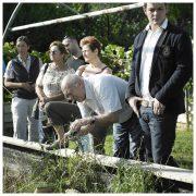 auf der Future-Farm Gugumuck Wiener Schnecken-Manufaktur. Mai - Oktober bieten wir Führungen am Schneckenfeld an. Andreas Gugumuck gibt Einblick in seine Schnecken-Zucht und seine visionären Future-Food-Konzepten.