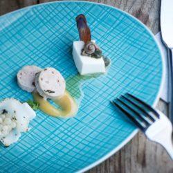 (c) gugumuck / www.andrewrinkhy.com, Schnecken-Weißwein, Weinbergschnecken-Leber, Escargots-Kaviar