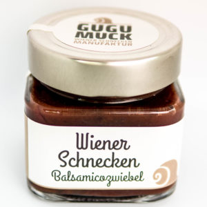 Wiener Schnecken Balsamico Zwiebel
