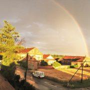 Regenbogen 2, Unsere Future Farm Gugumuck in Wien - Best Young Farmer of Europe