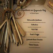 Schnecken essen am Gugumuck-Hof
