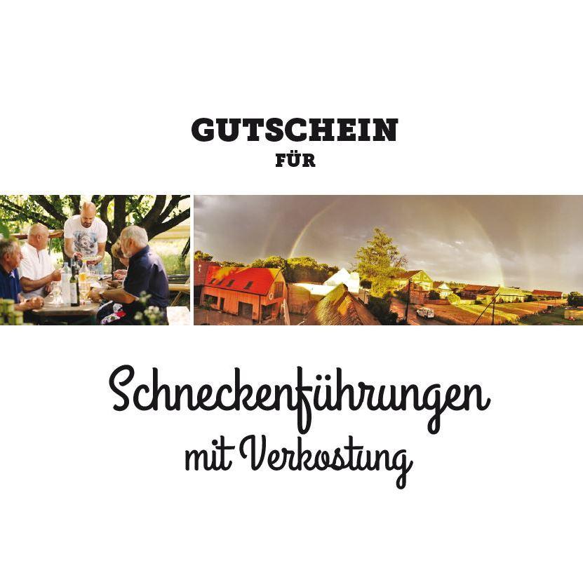 Schnecken-Führung Gutschein am Gugumuck-Hof