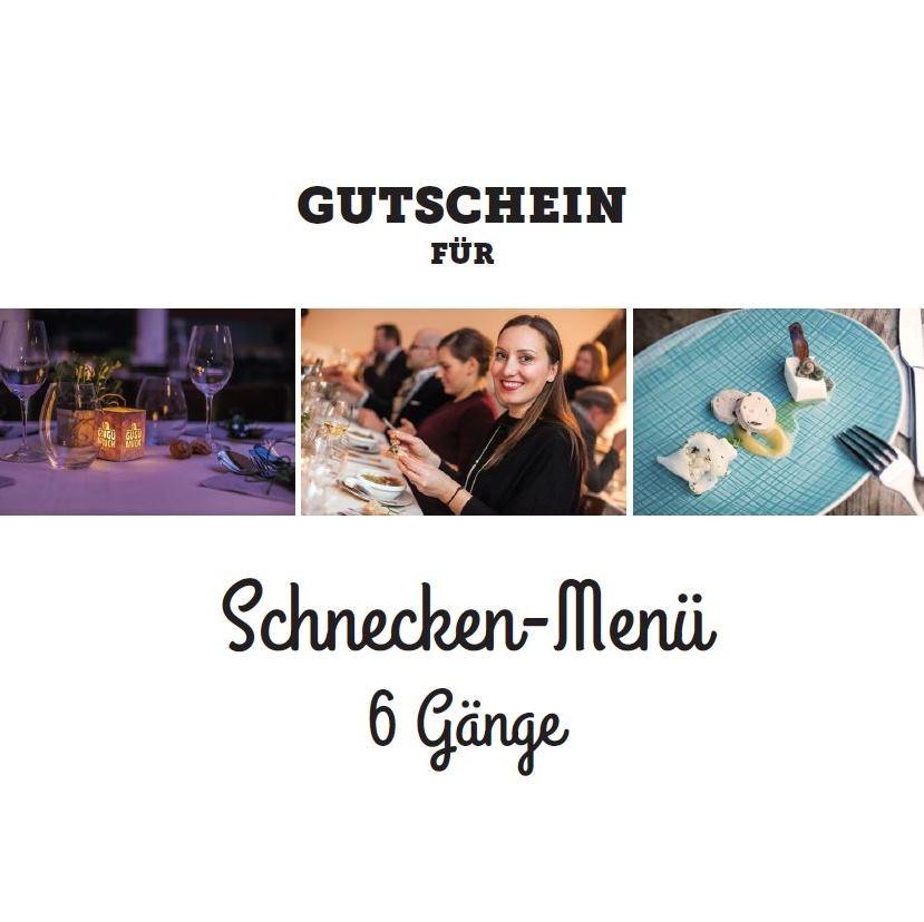 Schnecken-Menü Gutschein Gugumuck-Bistro, 7-Gänge-Menü