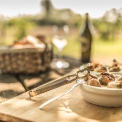 (c) Österreich Werbung, Schnecken essen am Schnecken-Feld