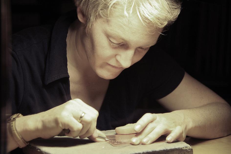 Kirsten Lubach, Facetten der Kunst, Kupferstich