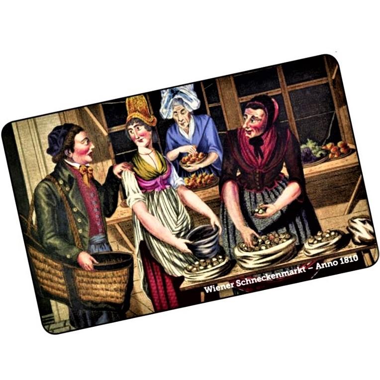 Giftcard, Schneckenweiber am Schneckenmarkt. Geschenkkarte kann man im Web-Shop, Ab-Hof oder Bistro eingelösen. Sie ist mit wählbarem Wert und es gibt dazu einen kostenlosen APP zur Guthaben-Abfrage.