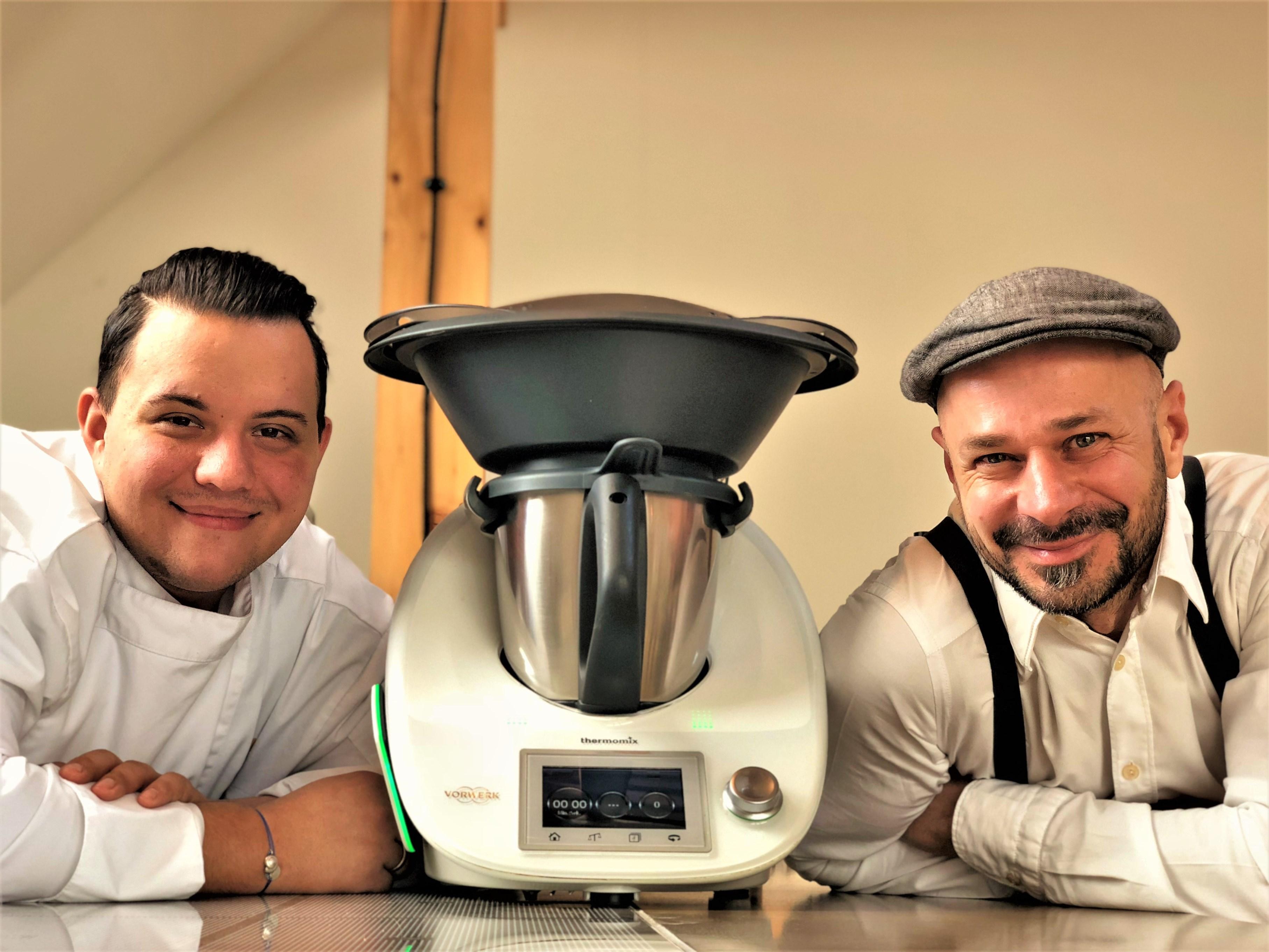 Thermomix TM5 Kochseminar und Erlebniskochen mit Andreas Gugumuck und Dominik Hayduck, viele Vorteile beim Kochen und Dampfgaren