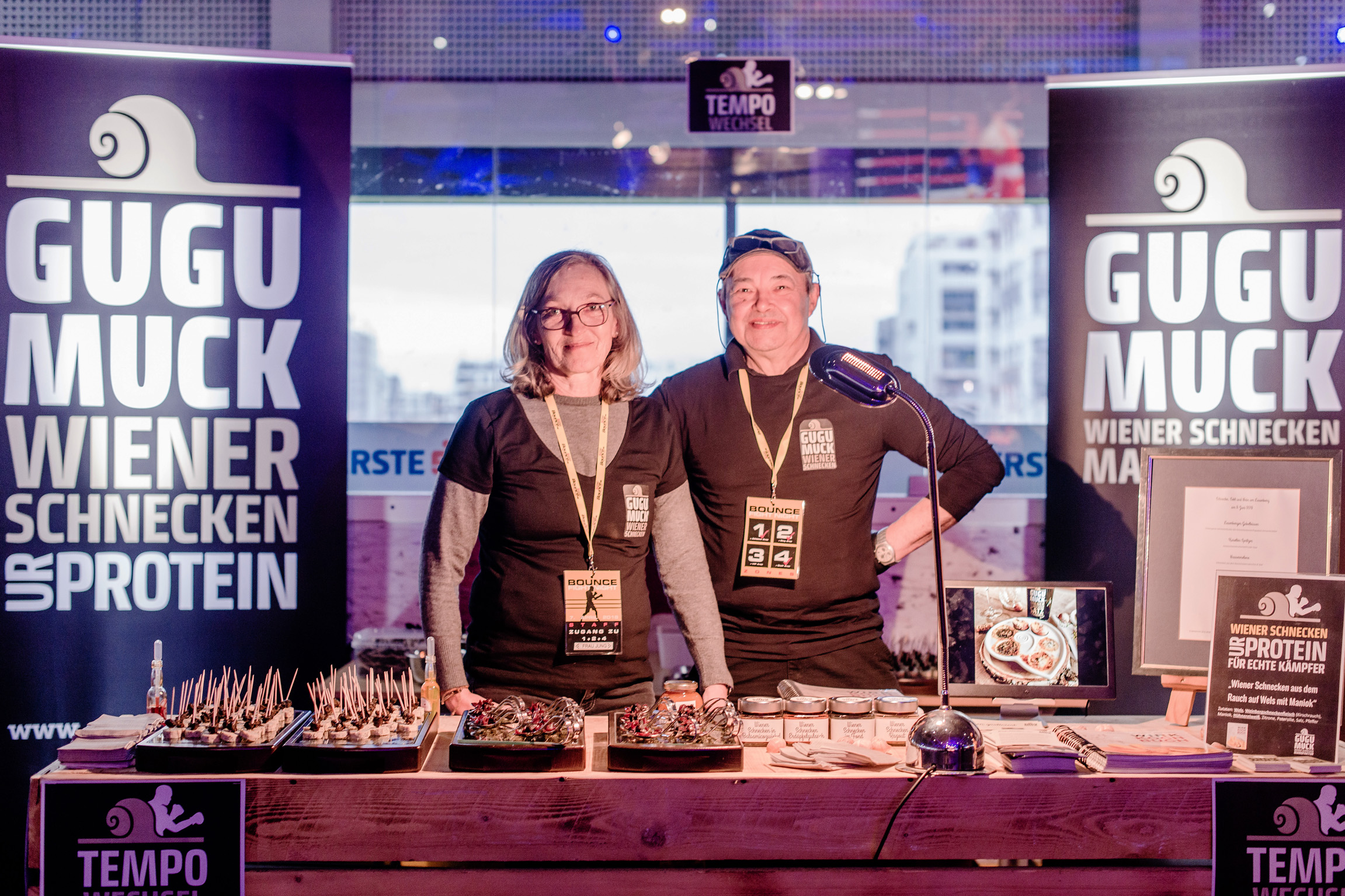 Bounce fight night 2018 mit Marcos Nader und Andreas Gugumuck; Tempowechsel, Comeback, Protein, Nader, Feinkost online